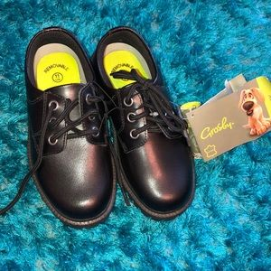 GROSBY kids leather school shoes/dress shoes